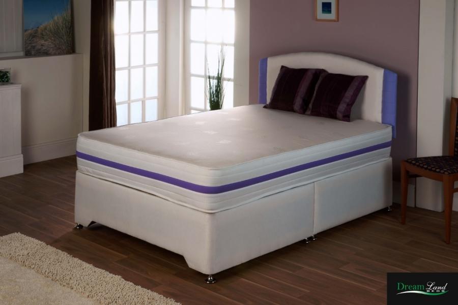 Kirsty pocket sprung mattress divan set bristol beds for Double divan bed with pocket sprung mattress