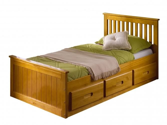 93 Pine Beds.Single Bed. Keswick Pine Spacesaver Sale Now