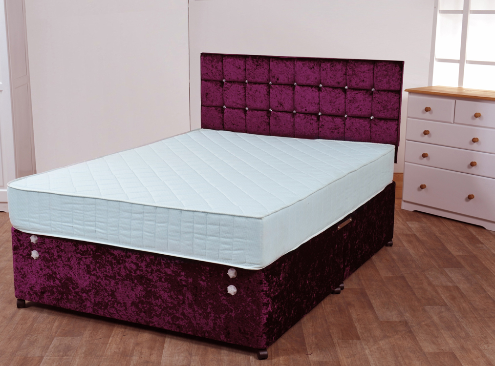 Ortho duo sleep 1800 bristol beds divan beds pine for 1800 beds