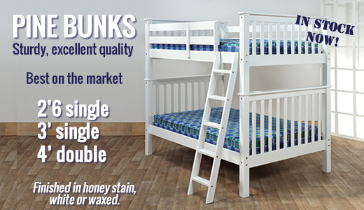 Pine bunks