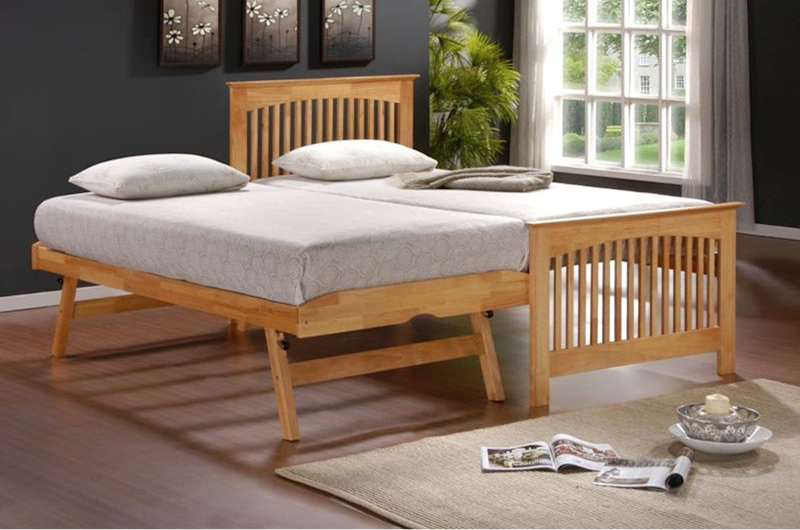 Tetbury guest bed bristol beds divan beds pine beds for Divan trundle bed