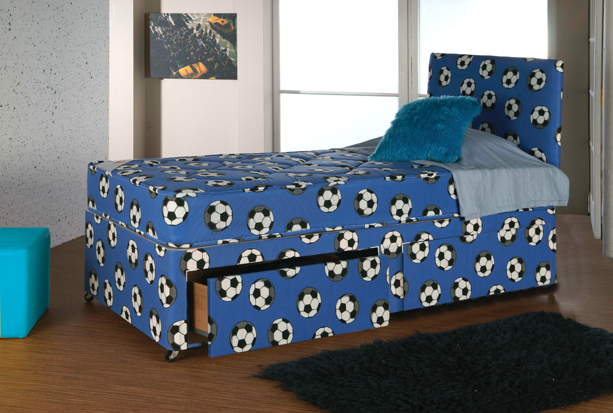 Kids Soccer Divan Bristol Beds Divan Beds Pine Beds Bunk Beds Metal Beds Mattresses And