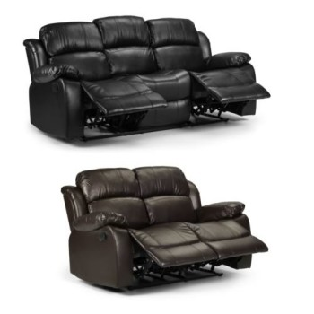 Reclining Leather Sofas 3+2