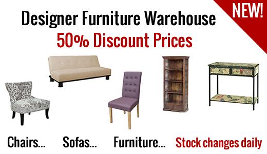 Designer furniture warehouse