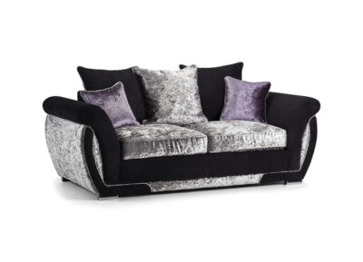 Glitz 2 seater scatter back