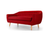 Radstock 2 Seater Sofa Red side