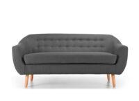 Radstock Seater Sofa Warm Grey
