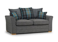 Spice 2 seater Scatter Back grey