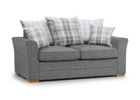 Spice 2 seater Scatter Back silver