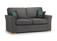 Spice 2 seater full Back grey