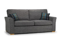 Spice 3 seater Full Back grey