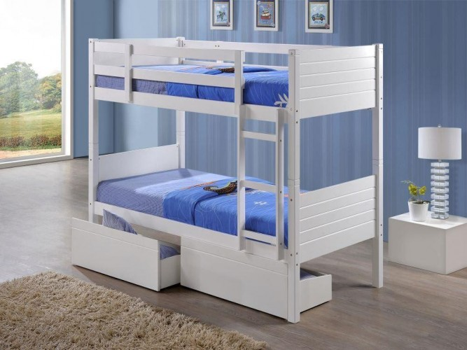 White Bunk Bristol Beds Divan Beds Pine Beds Bunk Beds Metal
