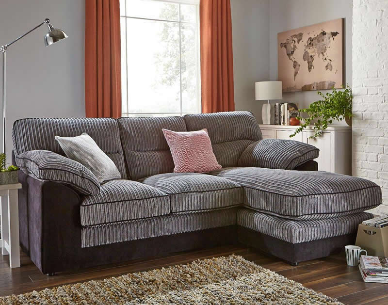 Delta 3 Seater Chaise Sofa   Room