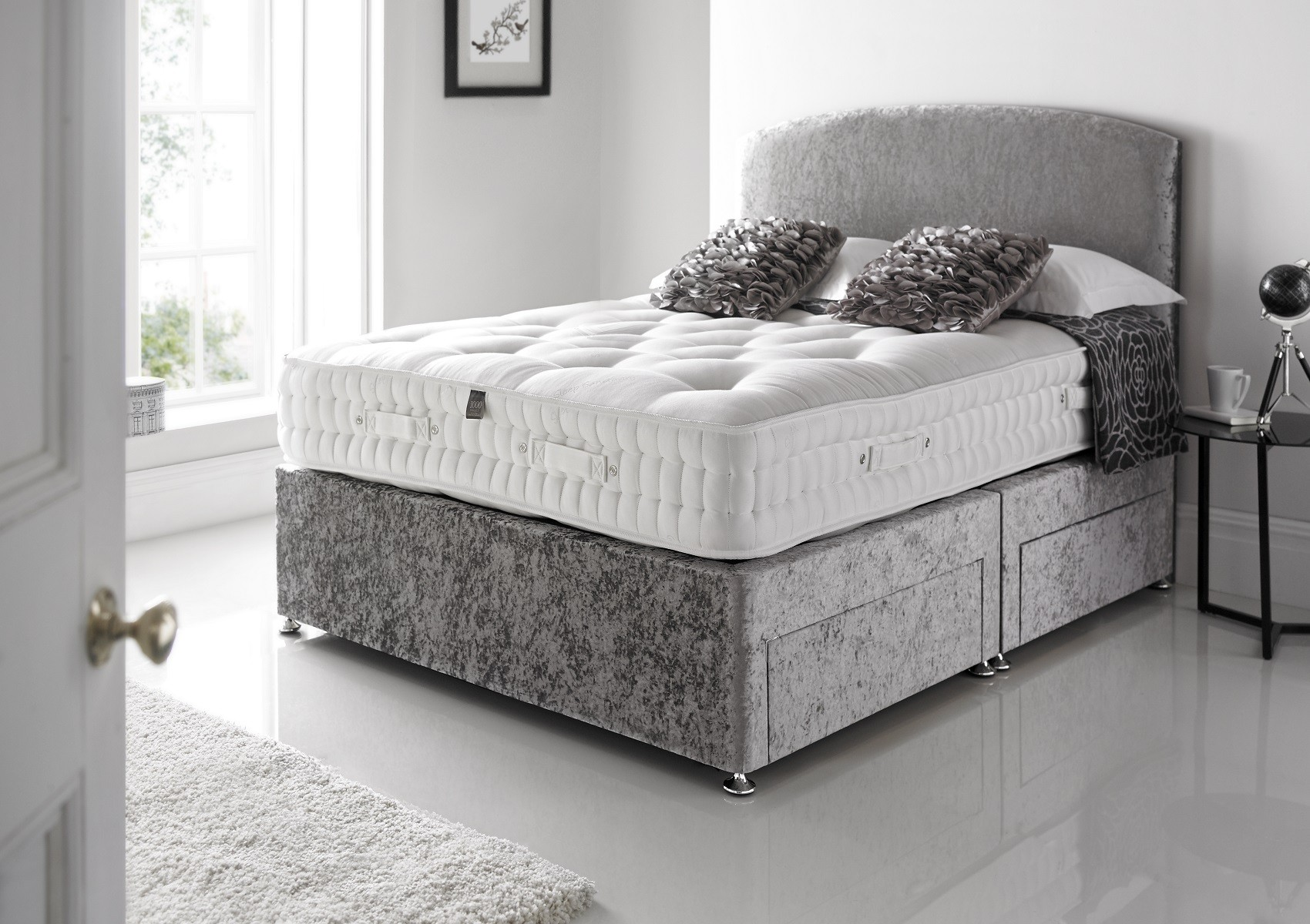 Glitz divan set bristol beds divan beds pine beds for Divan bed offers