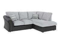 Standard Back Compact Corner Chaise Sofa