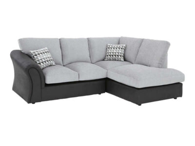 Standard Back Compact Corner Chaise Sofa