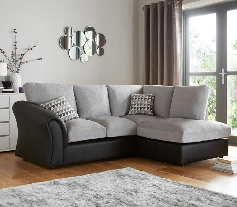 Standard back compact corner chaise sofa bristol beds for Chaise corner sofas uk