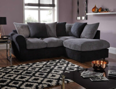 Zayne sofa and chair - room