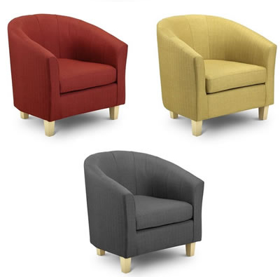 Fabric Tub Chair Bristol Beds Divan Beds Pine Beds