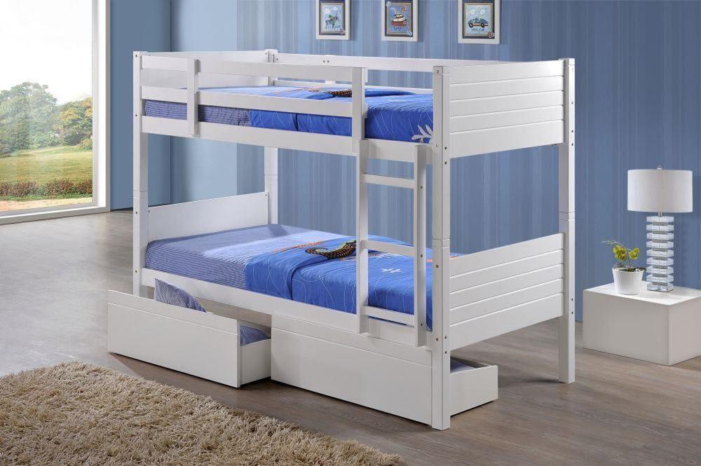 White Bunk Bristol Beds Divan Beds Pine Beds Bunk Beds Metal Beds Mattresses And More