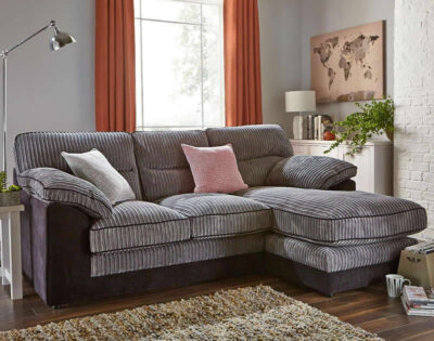 Delta 3-Seater Chaise Sofa - room