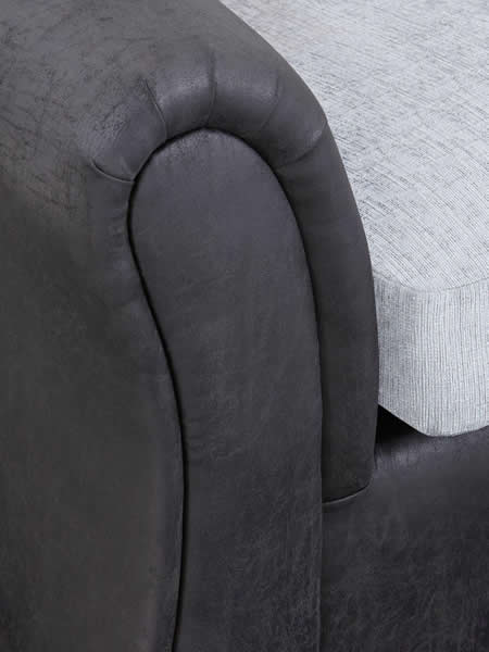 Standard Back Compact Corner Chaise Sofa Bristol Beds