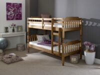Colonial Spindle Bunk - Waxed