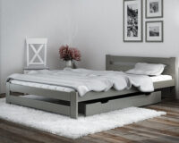 Xiamen Bed Grey