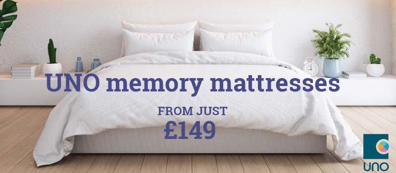 UNO memory mattresses